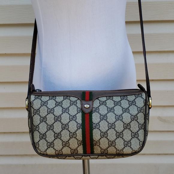 Gucci GG Web Supreme Ophidia Crossbody Bag